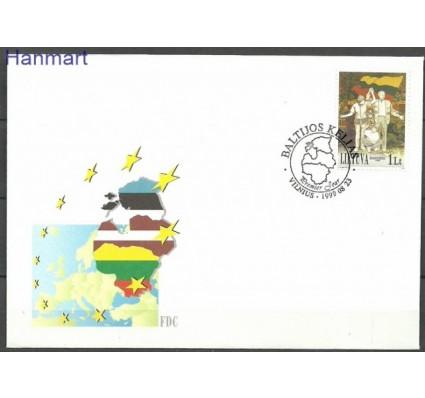 Znaczek Litwa 1999 Mi 704 FDC