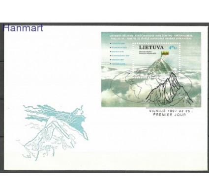 Znaczek Litwa 1997 Mi bl 10 FDC