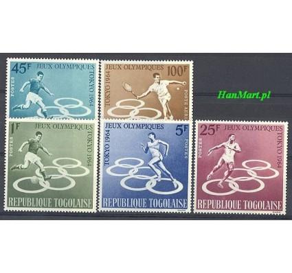 Znaczek Togo 1964 Mi 435-439 Czyste **