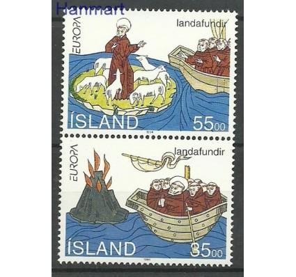 Znaczek Islandia 1994 Mi 800-801 Czyste **