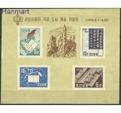 Znaczek Korea Północna 1959 Mi bl 1 Czyste **