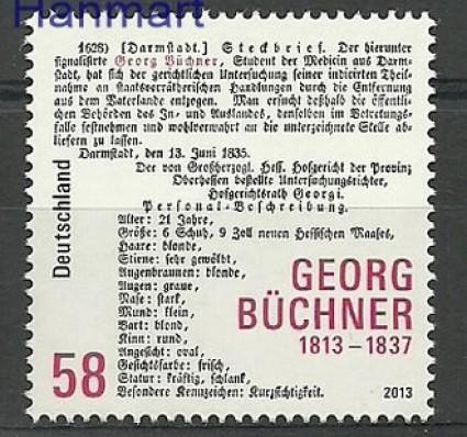 Znaczek Niemcy 2013 Mi 3031 Czyste **