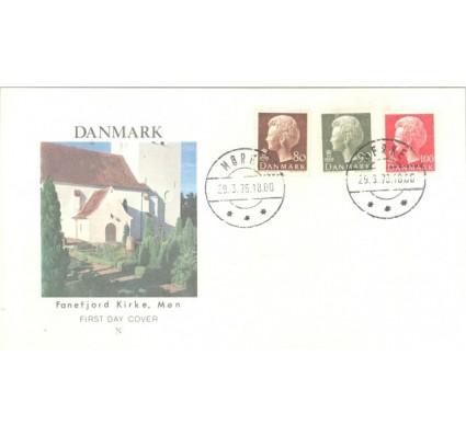 Znaczek Dania 1976 Mi 622-624 FDC
