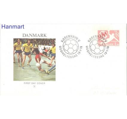 Znaczek Dania 1978 FDC