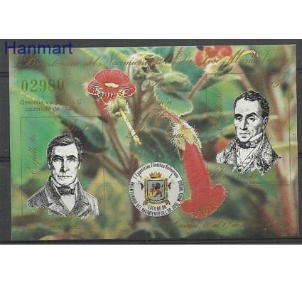 Znaczek Wenezuela 1986 Mi bl 35 Czyste **