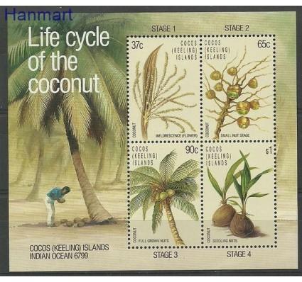 Znaczek Wyspy Kokosowe / Keelinga 1988 Mi bl 6 Czyste **