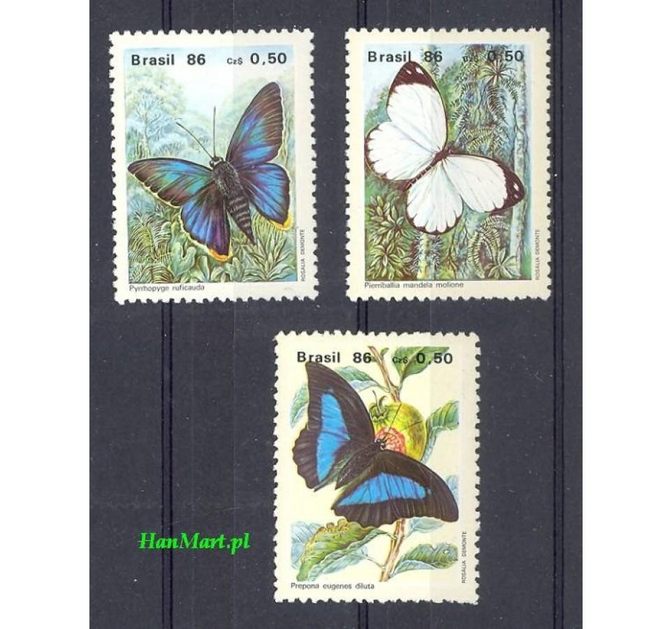 Brazylia 1986 Mi 2172-2174 Czyste **
