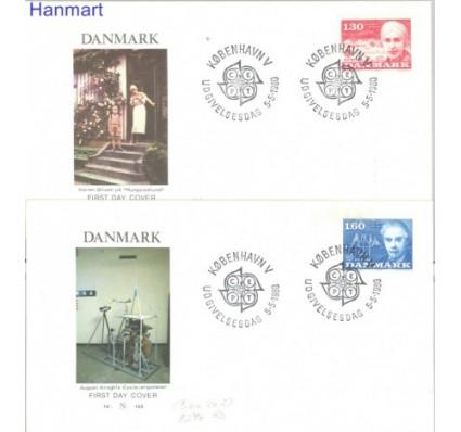 Znaczek Dania 1980 FDC