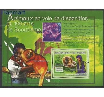 Znaczek Gwinea 2007 Mi bl 1311 Czyste **