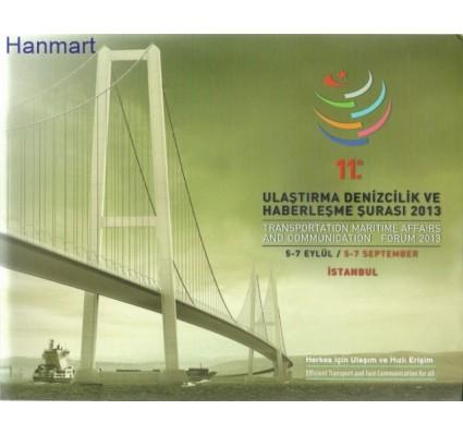 Znaczek Turcja 2013 FDC