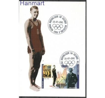 Znaczek Gwinea 2001 Mi zf 1003 Karta Max