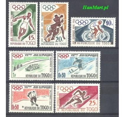 Znaczek Togo 1960 Mi 276-282 Czyste **