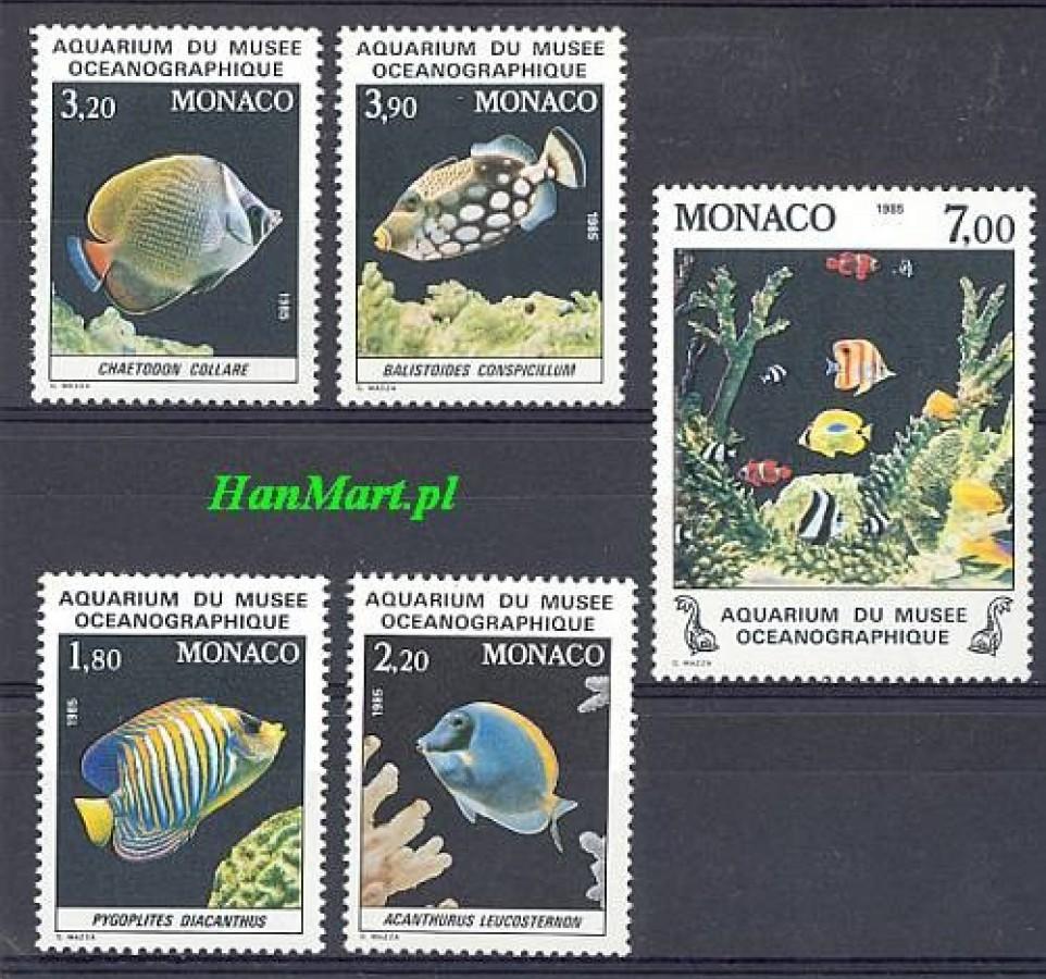 Monako 1985 Mi 1704-1708 Czyste **