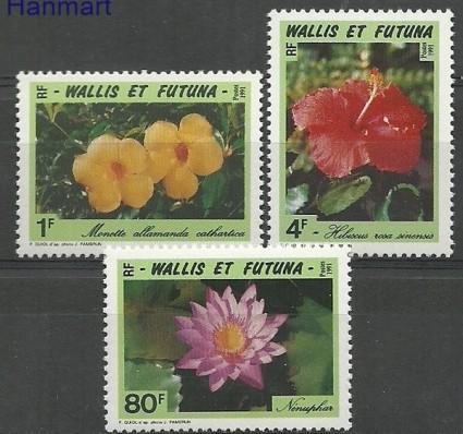 Znaczek Wallis et Futuna 1991 Mi 607-609 Czyste **