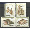 Wallis et Futuna 1999 Mi 752-755 Czyste **