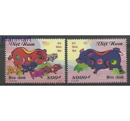 Znaczek Wietnam 2006 Mi 3454-3455 Czyste **