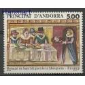 Andora Francuska 1989 Mi 405 Czyste **