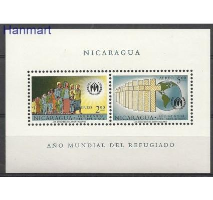 Znaczek Nikaragua 1961 Mi bl 54 Czyste **