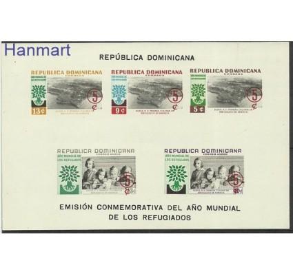 Znaczek Dominikana 1960 Mi bl 24B Czyste **