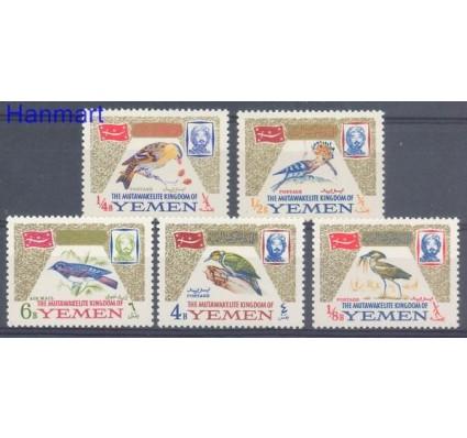 Znaczek Jemen Królestwo 1965 Mi 148-152 Czyste **