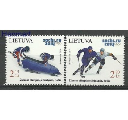Znaczek Litwa 2014 Mi 1150-1151 Czyste **