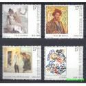 Belgia 1998 Mi 2793-2796 Czyste **