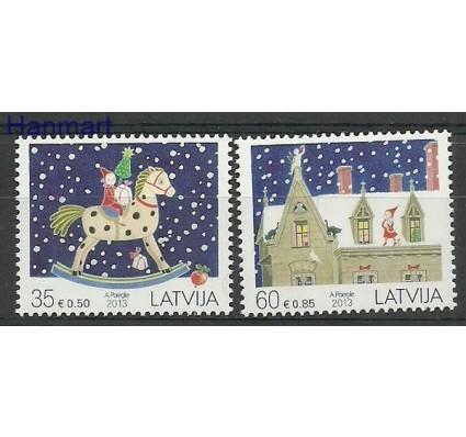 Znaczek Łotwa 2013 Mi 880-881 Czyste **
