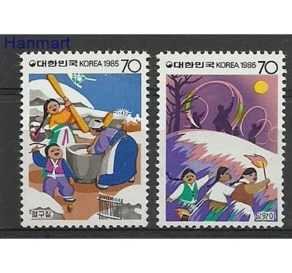 Znaczek Korea Południowa 1985 Mi 1398-1399 Czyste **