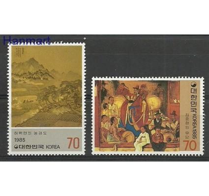 Znaczek Korea Południowa 1985 Mi 1414-1415 Czyste **
