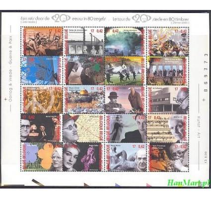 Znaczek Belgia 2000 Mi ark 2994-3013 Czyste **