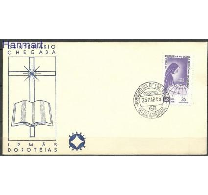 Znaczek Brazylia 1966 FDC