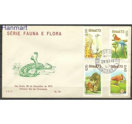 Znaczek Brazylia 1973 Mi 1415-1418 FDC