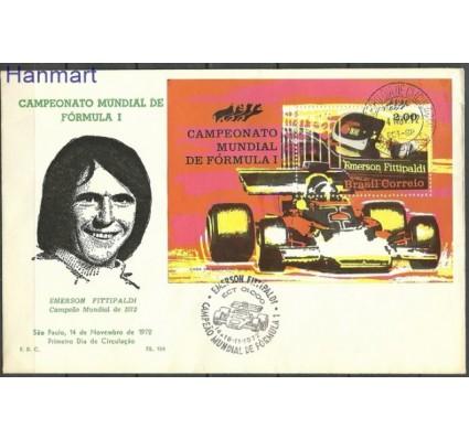 Znaczek Brazylia 1972 Mi bl 31 FDC