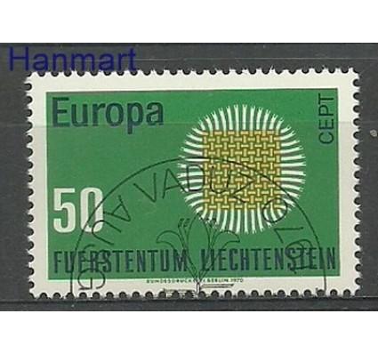 Znaczek Liechtenstein 1970 Mi 525 Stemplowane