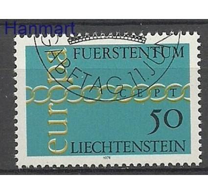 Znaczek Liechtenstein 1971 Mi 545 Stemplowane