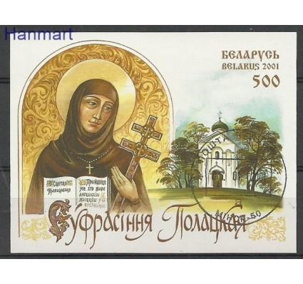 Znaczek Białoruś 2001 Mi bl 22 Stemplowane