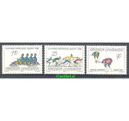 Znaczek Liechtenstein 1987 Mi 934-936 Czyste **