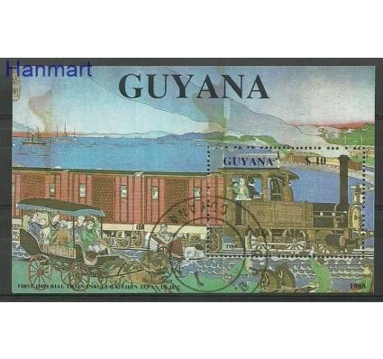 Znaczek Gujana 1989 Mi bl 32 Stemplowane