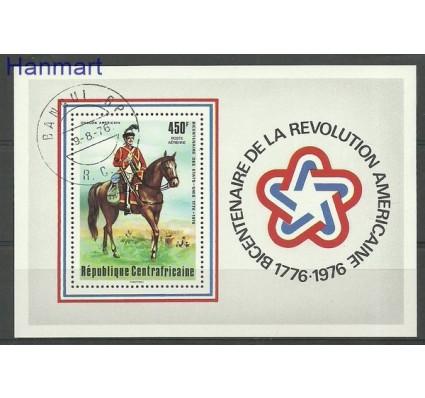 Znaczek Republika Środkowoafrykańska 1976 Mi bl 10 Stemplowane