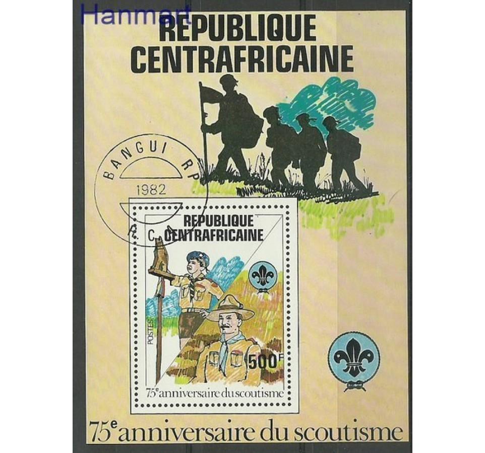 Republika Środkowoafrykańska 1982 Mi bl 163 Stemplowane