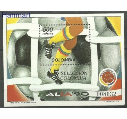 Znaczek Kolumbia 1990 Mi bl 44 Czyste **