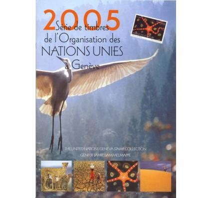 Znaczek Narody Zjednoczone Genewa 2005 Mi 526-529 Czyste **