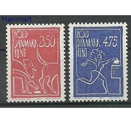 Znaczek Dania 1991 Mi 1010-1011 Czyste **