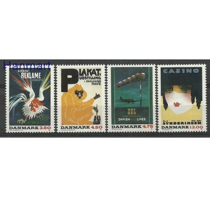 Znaczek Dania 1991 Mi 1012-1015 Czyste **