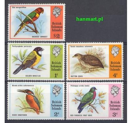 Znaczek Wyspy Salomona 1975 Mi 267-271 Czyste **