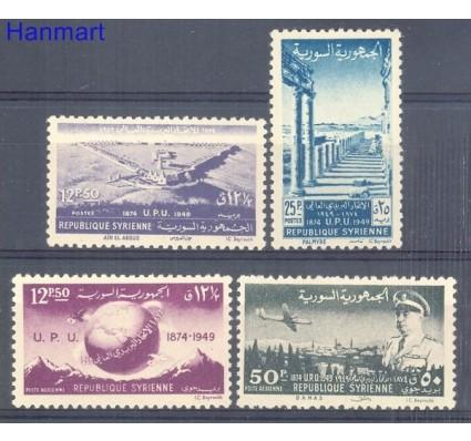 Znaczek Syria 1949 Mi 578-581 Z podlepką *