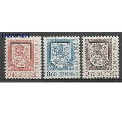 Znaczek Finlandia 1975 Mi 760-762IAy Czyste **