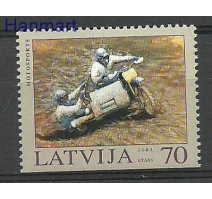 Znaczek Łotwa 2003 Mi 599Du Czyste **