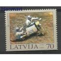 Łotwa 2003 Mi 599Du Czyste **