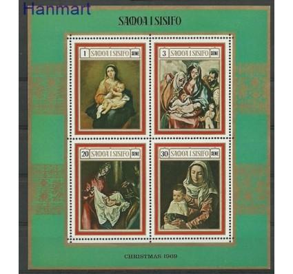 Znaczek Samoa i Sisifo 1969 Mi bl 1 Czyste **